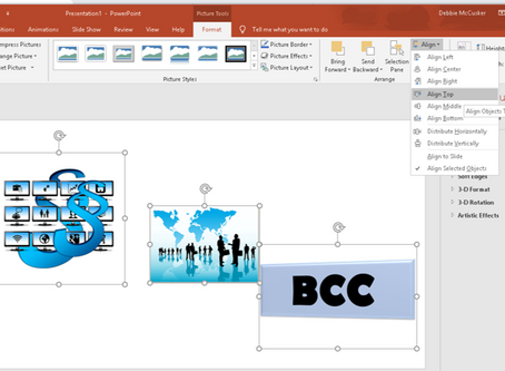 PowerPoint Object Alignment