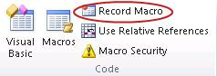 Excel Macros for Productivity