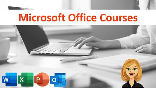 Microsoft Office Courses Image GAD 2021.