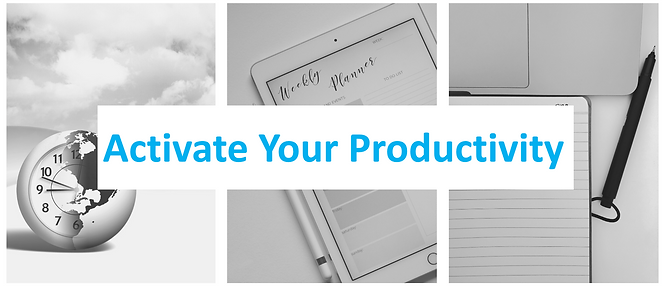 Activate Your Productivity GAD Soft Skil