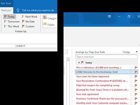 Outlook Tip: Reorder Task List