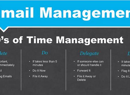 4 D's of Time Management - part 2