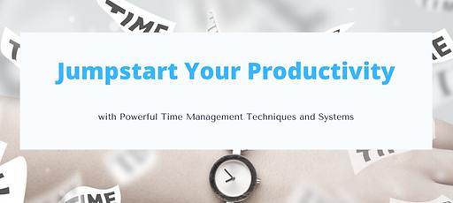 Jumpstart Your Productivity GAD Soft Cou