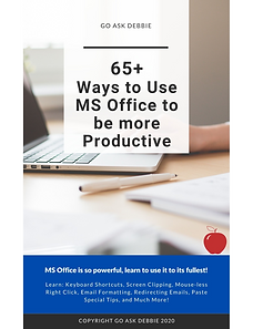 65 Ways to Use MS Office to be More Prod