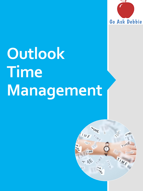 Outlook Time Management Mini-Course