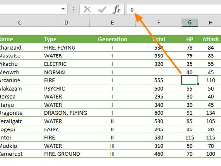Display or Hide Zero values in Excel