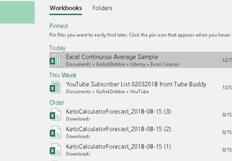 Excel 2007 Quick Tip