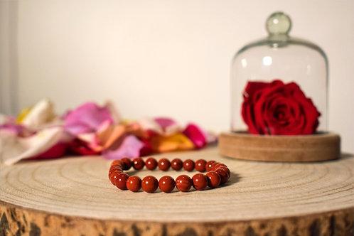 Bracelet - Jaspe Rouge