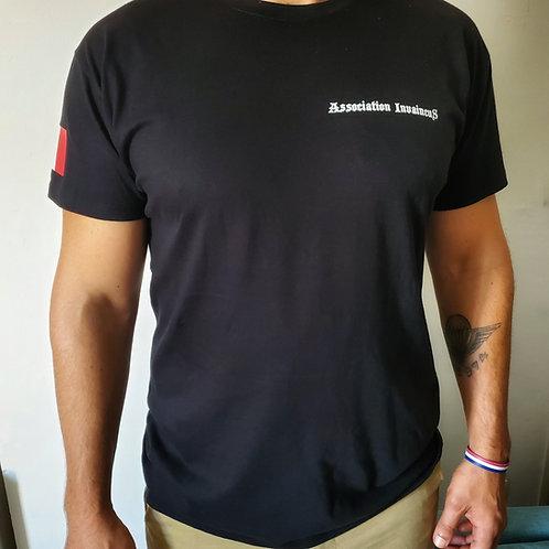 "T-shirt InvaincuS 100% coton bio ""Les rencontres de l'abbaye de Sénanque"""