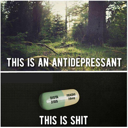 Let's End the Stigma Against Anti-Depressants
