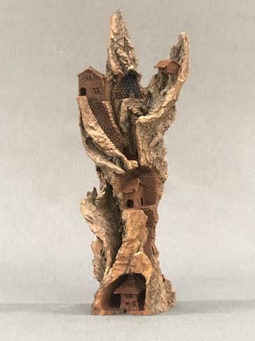 Bark Houses by Phil Terry