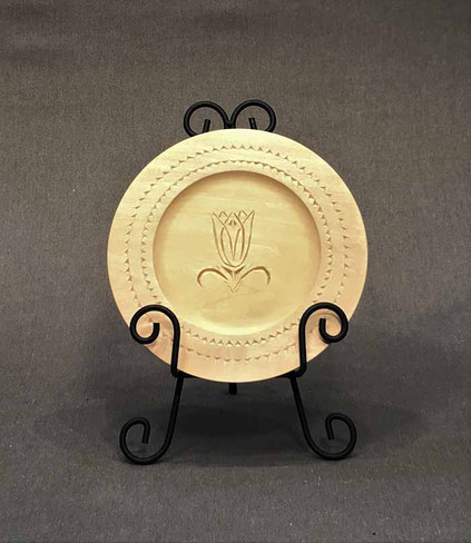 Chip Carved Plate by Janet Guyette