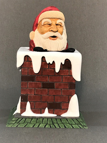 Down the Chimney by Lewis Waynick