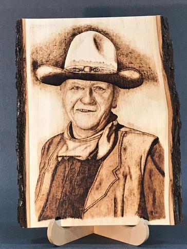 John Wayne by Phil Terry