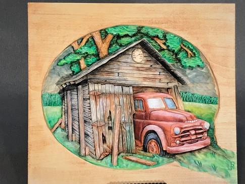 Old '52 Ford Truck by Robert Stadtlander