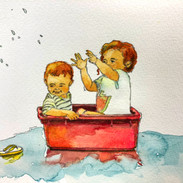 小さなプール