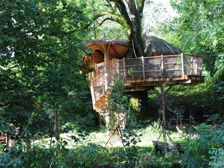 Les cabanes de Marie : une parenthèse offrant le luxe de la simplicité en pleine nature