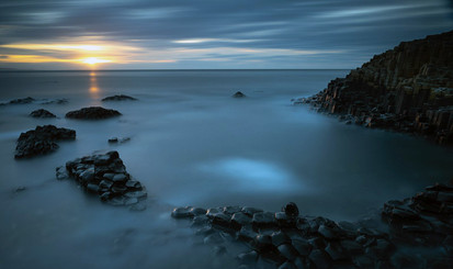 'Causeway sunset' by Joanne Lavery, Central Photographic Association
