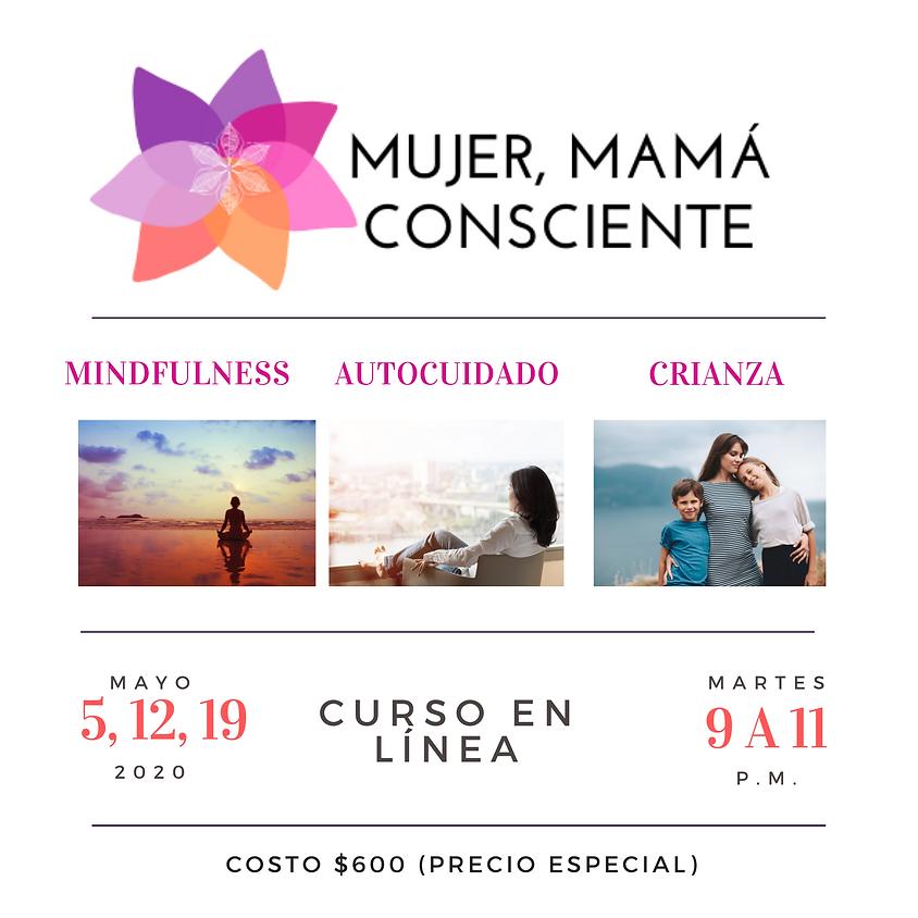 Mujer, mamá consciente