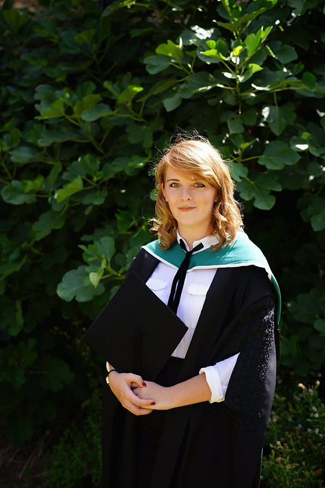 Scarlett Mansfield at her Oxford University Graduation