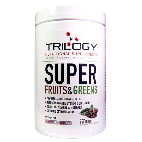 Trilogy Super Fruits & Greens – Espresso