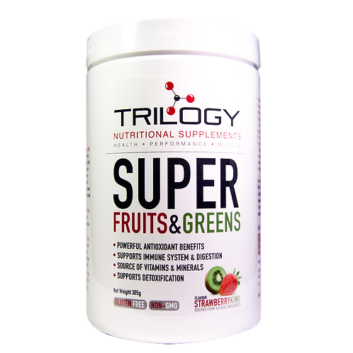 Trilogy Super Fruits & Greens – Strawberry Kiwi