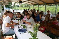 Floßfahrt mit Catering