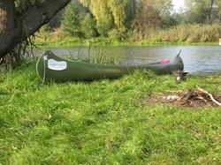 Gatz Kanu auf der Alten Oder