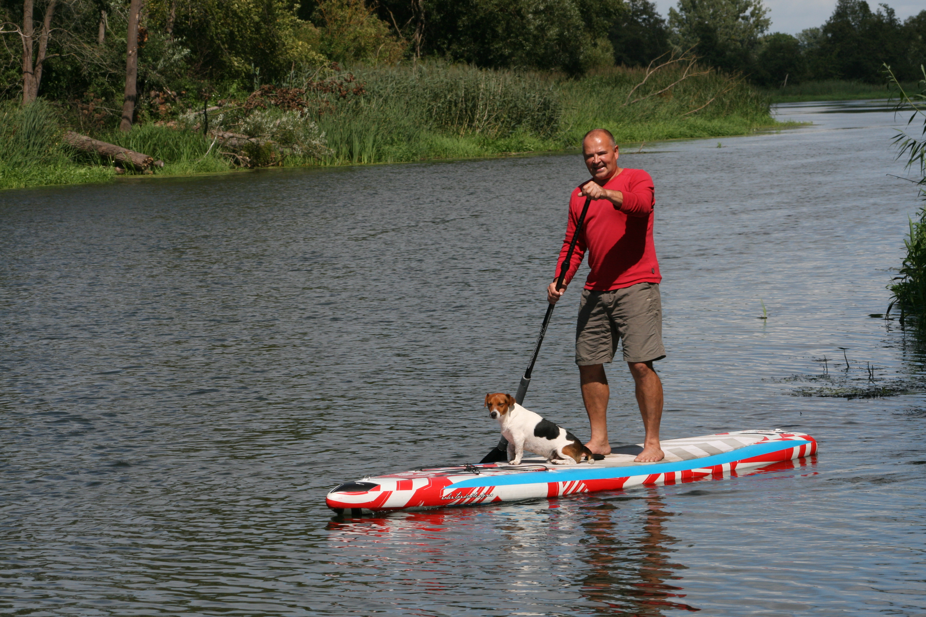 Stand Up Paddling wo? ODERTOURS