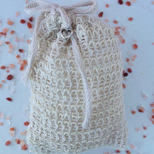 Exfoliate Soap Bag