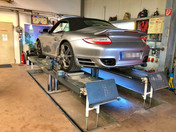 Achvermessung Porsche 997 Turbo