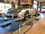 Achsvermessung Porsche 997 Turbo