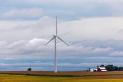 Wind Turbine Barn