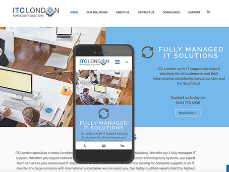 IT Company ITC London re-brands and launches new website