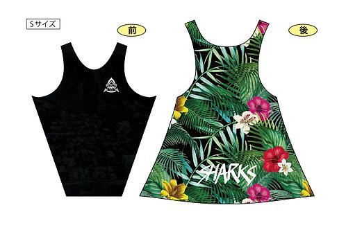 TEAM SHARKSロゴ メンズランシャツ