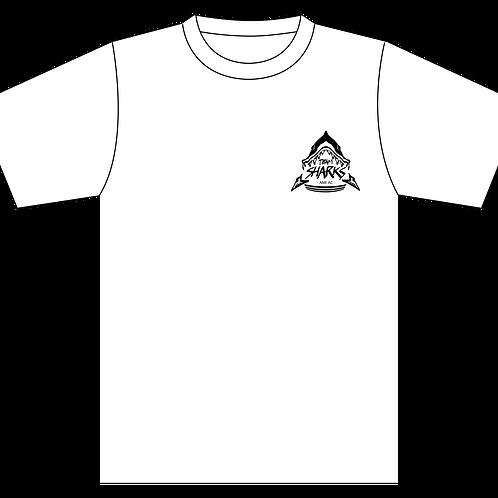 TEAM SHARKSロゴプリント練習用半袖Tシャツ