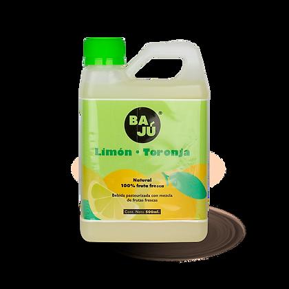 Zumo de Limón + Toronja 500 ml