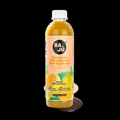 Jugo Maracuyá + Hierbabuena + Miel de Abejas 500 ml