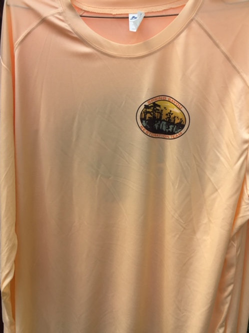 Paragon 210 solar long sleeve shirt (peach)