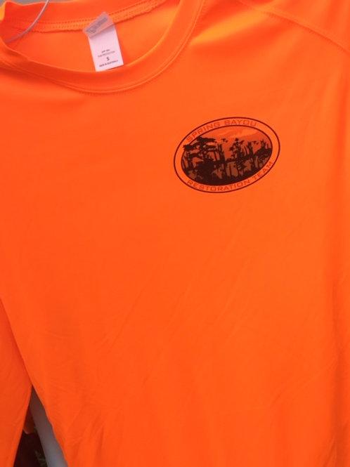 Paragon 210 solar long sleeve shirt (neon orange)