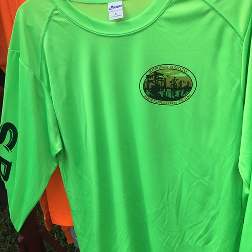 Paragon 210 solar long sleeve shirt (neon lime)