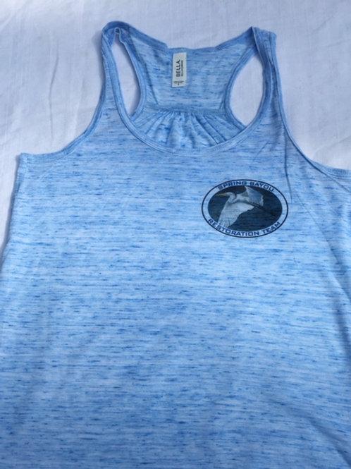 Ladies 8800 tank tops (blue marble)