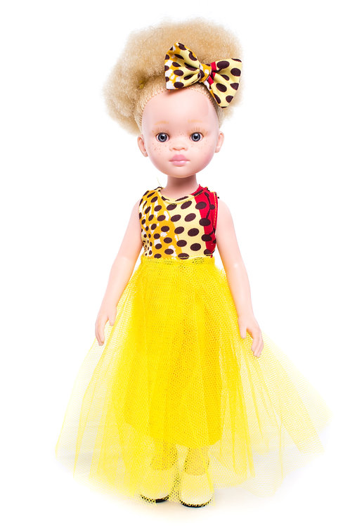 Jasmine - Cocoa Butter Scented Afro Hair Doll with Albinism