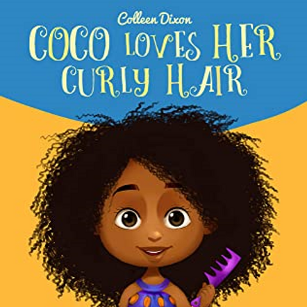 Coco Loves Her Curly Hair
