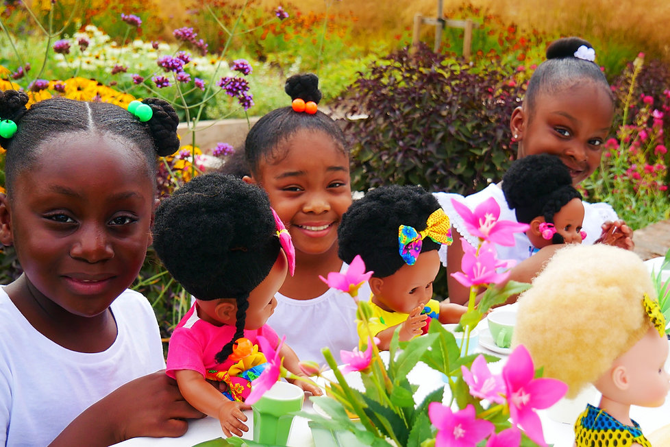 Mangotree kids multicultural dolls