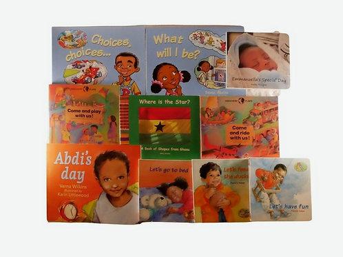 Set of 10 Books