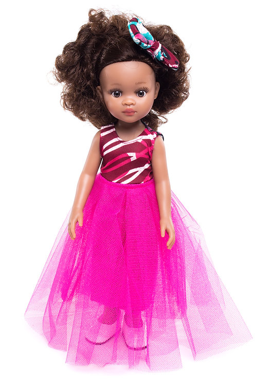 Ava - Cocoa Butter Scented Mixed Race Doll