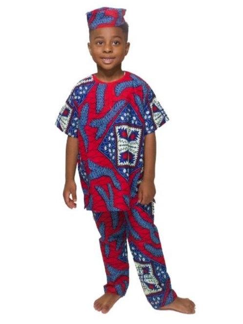 African Boy Costume