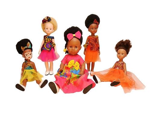 Set of 5 Dolls
