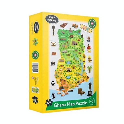 Ghana Map Puzzle